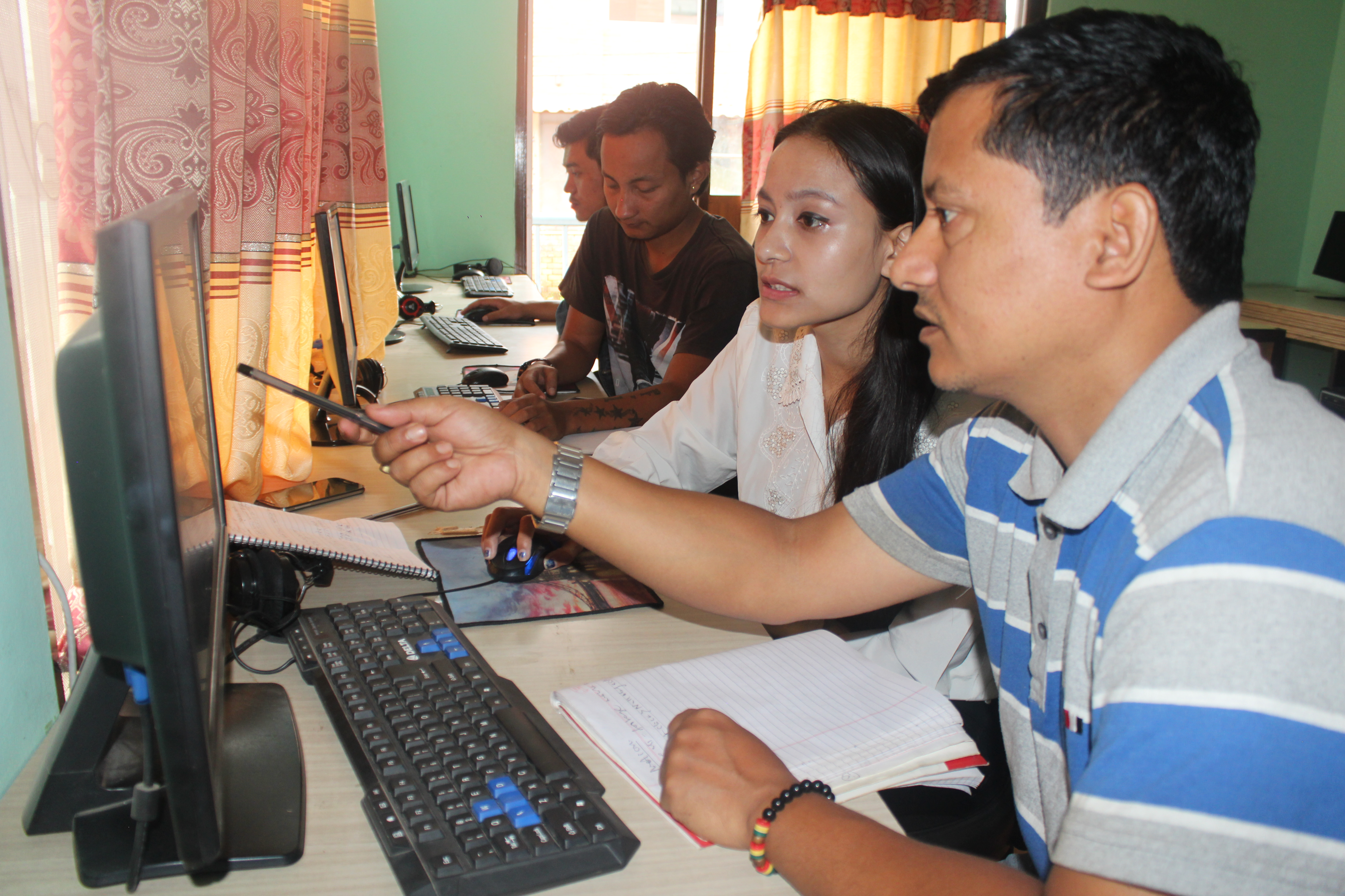 Visual Editing Courses in Kantipur Film Academy
