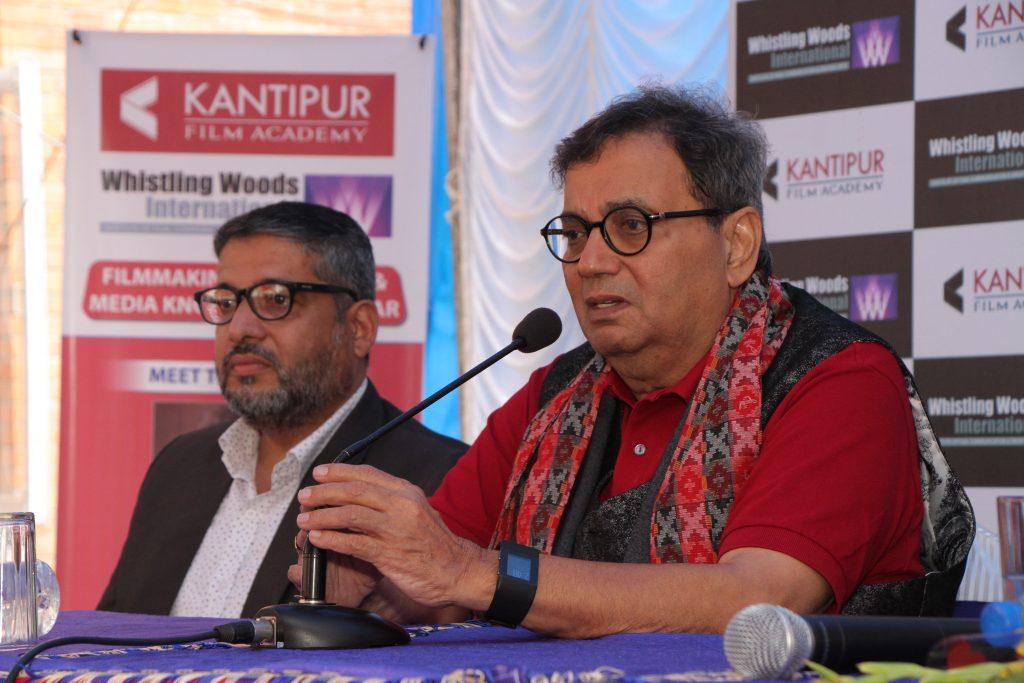 Subash ghai visit nepal